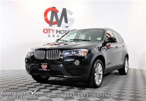 2016 BMW X3 for sale at City Motor Group, Inc. in Wanaque NJ