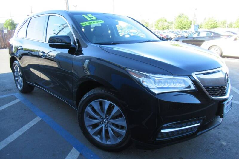 2015 Acura MDX for sale at Choice Auto & Truck in Sacramento CA