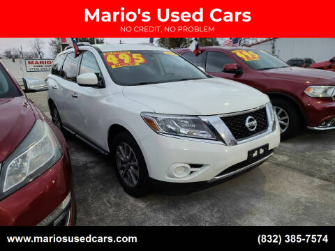 2015 Nissan Pathfinder for sale at Mario's Used Cars in Houston TX