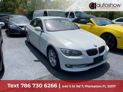 2012 BMW 3 Series for sale at AUTOSHOW SALES & SERVICE in Plantation FL