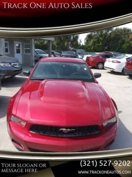 2011 Ford Mustang for sale at Track One Auto Sales in Orlando FL