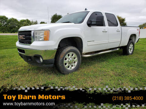 2011 GMC Sierra 2500HD for sale at Toy Barn Motors in New York Mills MN