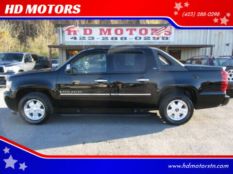 2009 Chevrolet Avalanche for sale at HD MOTORS in Kingsport TN
