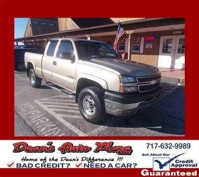 2005 Chevrolet Silverado 2500HD for sale at Dean's Auto Plaza in Hanover PA