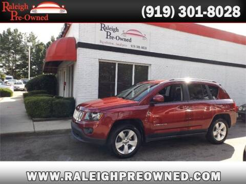 2016 Jeep Compass for sale at Raleigh Pre-Owned in Raleigh NC