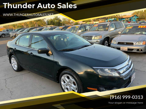 2010 Ford Fusion for sale at Thunder Auto Sales in Sacramento CA