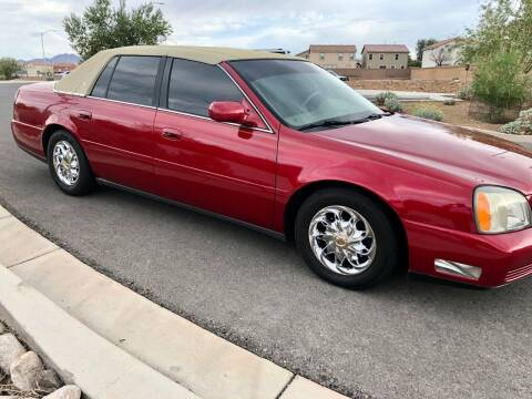 2003 Cadillac DeVille for sale at GEM Motorcars in Henderson NV