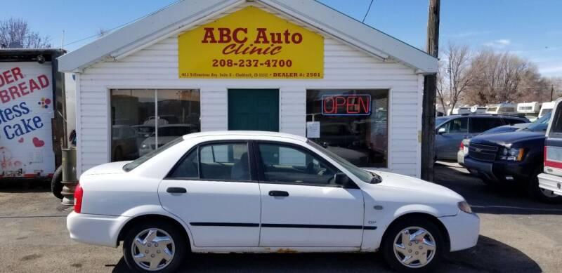 2003 Mazda Protege for sale at ABC AUTO CLINIC - Chubbuck in Chubbuck ID