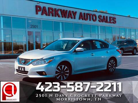2017 Nissan Altima for sale at Parkway Auto Sales, Inc. in Morristown TN