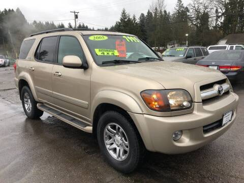 2005 Toyota Sequoia for sale at Freeborn Motors in Lafayette, OR