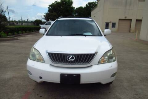2008 Lexus RX 350 for sale at AUTO VALUE FINANCE INC in Stafford TX