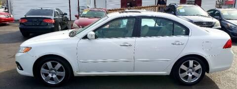 2010 Kia Optima for sale at Rayyan Auto Sales LLC in Lexington KY