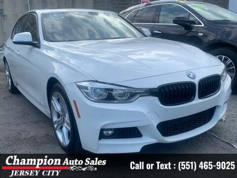 2016 BMW 3 Series for sale at CHAMPION AUTO SALES OF JERSEY CITY in Jersey City NJ