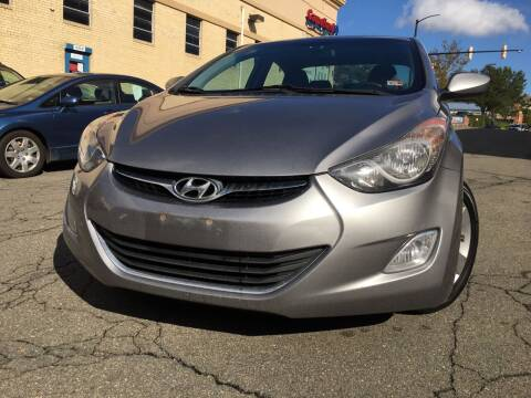 2012 Hyundai Elantra for sale at Alexandria Auto Sales in Alexandria VA