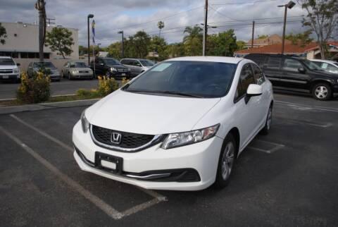2013 Honda Civic for sale at MIKE AHWAZI in Santa Ana CA