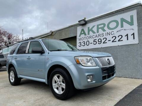 2008 Mercury Mariner Hybrid for sale at Akron Motorcars Inc. in Akron OH