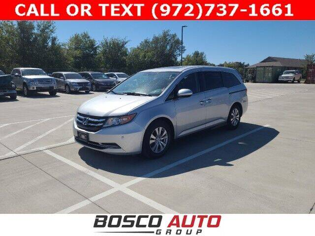 2015 Honda Odyssey for sale at Bosco Auto Group in Flower Mound TX