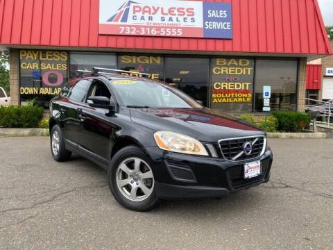 2012 Volvo XC60 for sale at PAYLESS CAR SALES of South Amboy in South Amboy NJ
