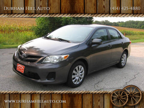 2012 Toyota Corolla for sale at Durham Hill Auto in Muskego WI