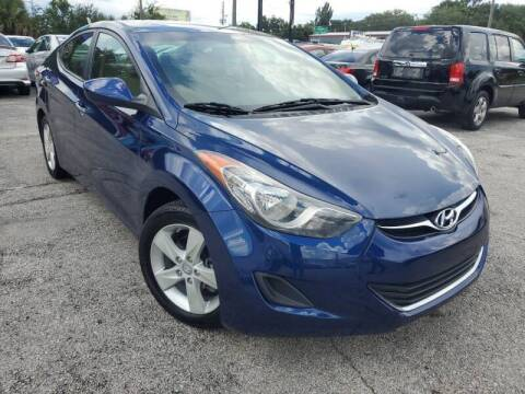 2013 Hyundai Elantra for sale at Mars auto trade llc in Kissimmee FL