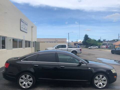 2005 Audi A6 for sale at Eden Cars Inc in Hollywood FL