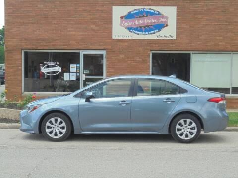 2020 Toyota Corolla for sale at Eyler Auto Center Inc. in Rushville IL