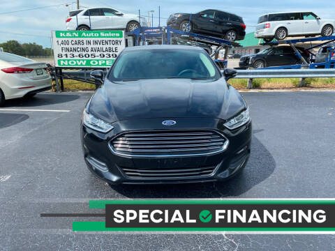 2013 Ford Fusion for sale at K&N Auto Sales in Tampa FL