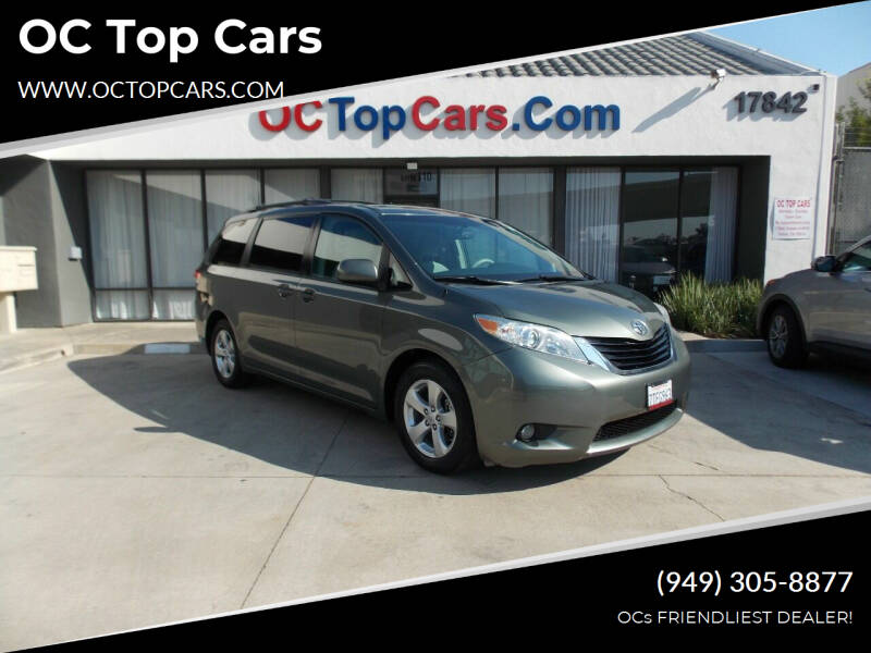 2014 Toyota Sienna for sale at OC Top Cars in Irvine CA