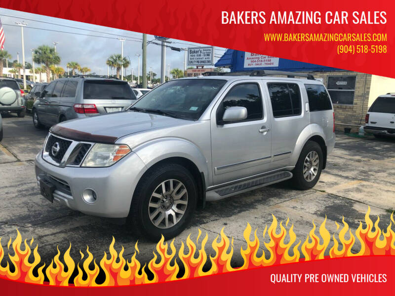 2010 Nissan Pathfinder for sale at Bakers Amazing Car Sales in Jacksonville FL
