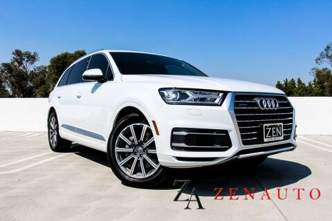 2019 Audi Q7 for sale at Zen Auto Sales in Sacramento CA