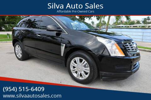2015 Cadillac SRX for sale at Silva Auto Sales in Pompano Beach FL
