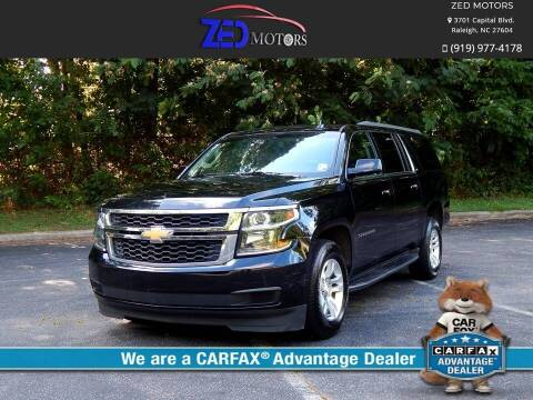 2017 Chevrolet Suburban for sale at Zed Motors in Raleigh NC