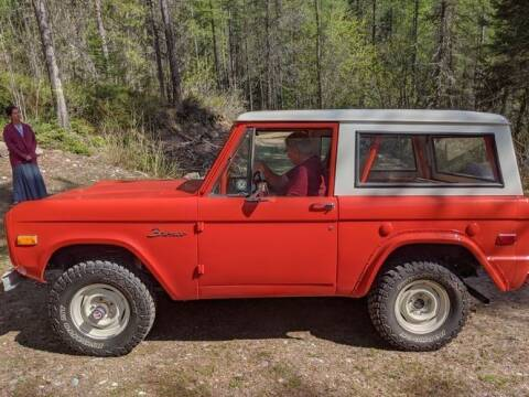1971 Ford Bronco for sale at Classic Car Deals in Cadillac MI