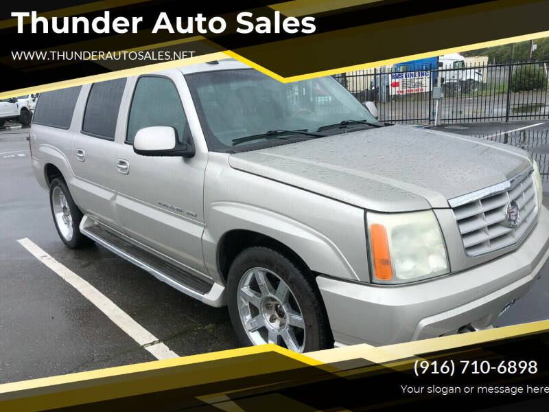 2004 Cadillac Escalade ESV for sale at Thunder Auto Sales in Sacramento CA