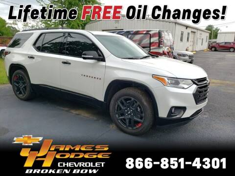 2021 Chevrolet Traverse for sale at James Hodge Chevrolet of Broken Bow in Broken Bow OK