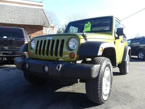 2007 Jeep Wrangler for sale at P&D Sales in Rockaway NJ