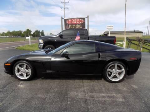 2005 Chevrolet Corvette for sale at MYLENBUSCH AUTO SOURCE in O` Fallon MO