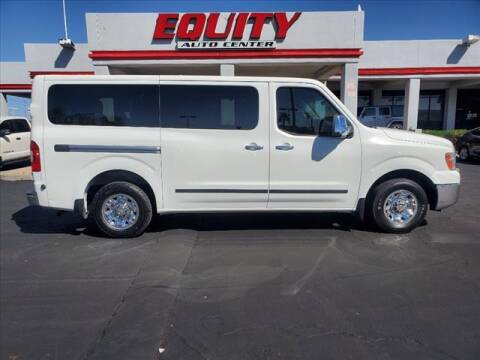 2015 Nissan NV Passenger for sale at EQUITY AUTO CENTER in Phoenix AZ