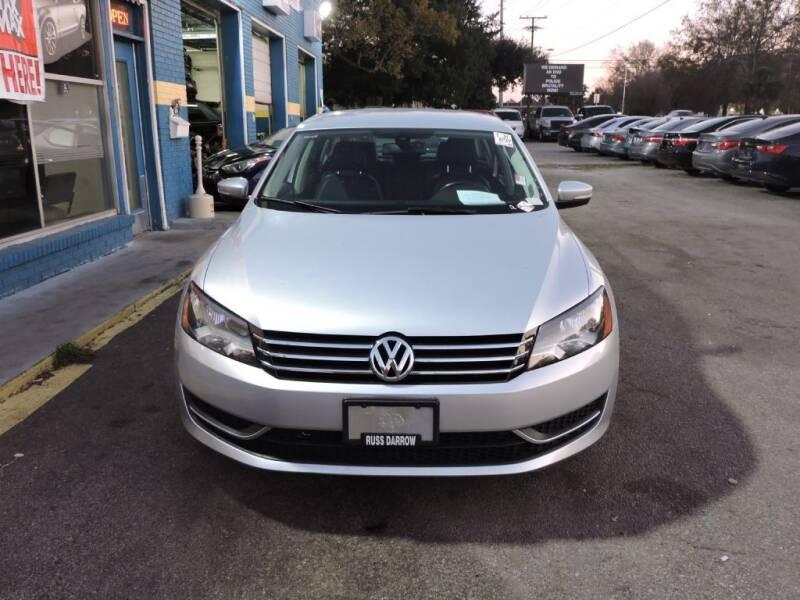 2013 Volkswagen Passat for sale at Drive Auto Sales & Service, LLC. in North Charleston SC