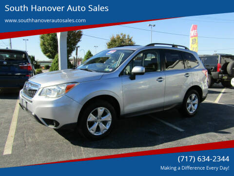 2014 Subaru Forester for sale at South Hanover Auto Sales in Hanover PA