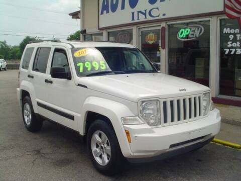2010 Jeep Liberty for sale at G & L Auto Sales Inc in Roseville MI