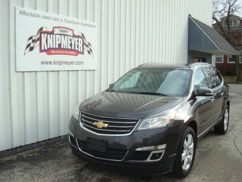 2017 Chevrolet Traverse for sale at Team Knipmeyer in Beardstown IL