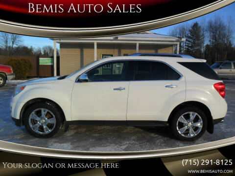 2010 Chevrolet Equinox for sale at Bemis Auto Sales in Crivitz WI
