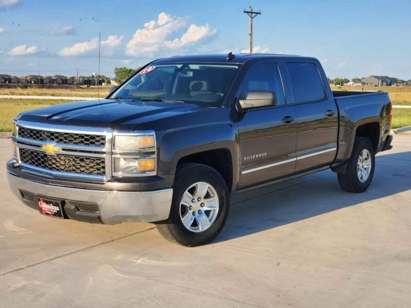 2014 Chevrolet Silverado 1500 for sale at Chihuahua Auto Sales in Perryton TX