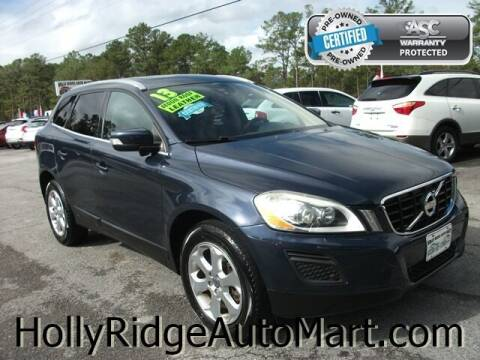 2013 Volvo XC60 for sale at Holly Ridge Auto Mart in Holly Ridge NC