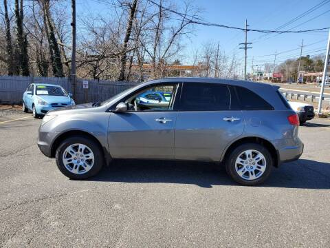 2009 Acura MDX for sale at CANDOR INC in Toms River NJ
