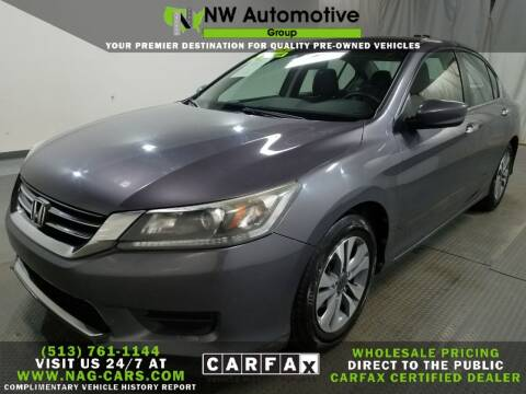 2015 Honda Accord for sale at NW Automotive Group in Cincinnati OH