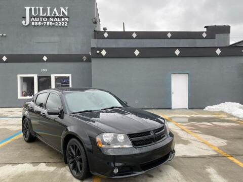 2014 Dodge Avenger for sale at Julian Auto Sales, Inc. in Warren MI