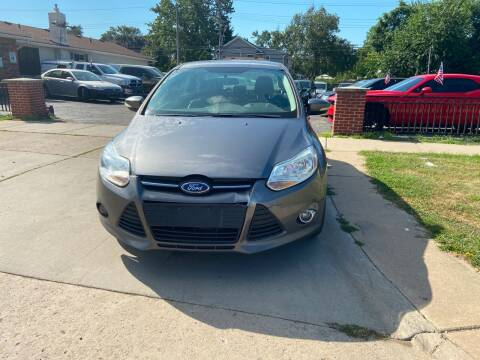 2014 Ford Focus for sale at All Starz Auto Center Inc in Redford MI