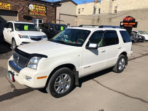 2008 Mercury Mountaineer for sale at STEEL TOWN PRE OWNED AUTO SALES in Weirton WV